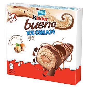 Kinder Barritas de helado con crema de avellanas Kinder Bueno 4 ud