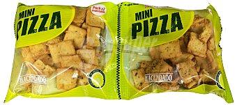 Hacendado Panes mini pizza anitines Pack de 2 unidades de 70 g