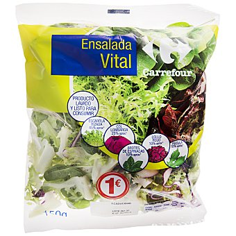 Carrefour Ensalada vital Bolsa de 150 g