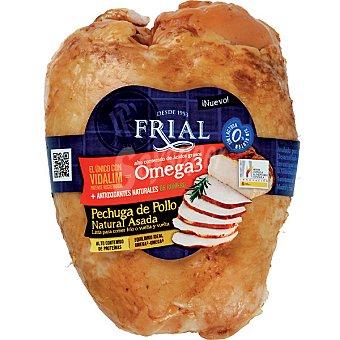 Frial Pechuga de pollo natural asada con Omega 3 sin lactosa sin gluten bajo contenido en grasas  Pieza 600 g