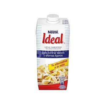 Ideal Nestlé Leche evaporada parcialmente desnatada Brik 525 g