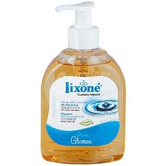 Lixone gel de baño cuidado natural glicerina dosificador 300 ml
