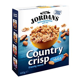 Jordan Cereales frutos secos country crip 400 g