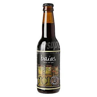 Baias Cerveza artesana Beltza Porter Botella 33 cl