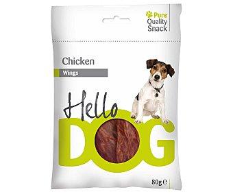 HELLO DOG Snacks de pollo para perros 80 gramos