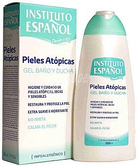 Instituto Español gel de baño para el cuidado de pieles atópicas secas y sensibles Bote 500 ml
