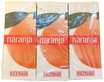 Hacendado Zumo naranja 6 x 200 cc