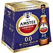 Cerveza 0,0% sin alcohol Pack 6 botellines x 25 cl Amstel