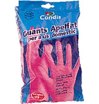 Condis Guant.goma flocados med 1 UNI