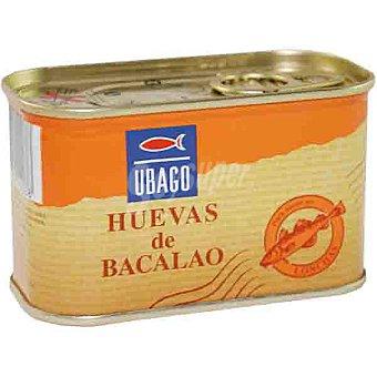 Ubago Huevas de bacalao Lata 200 g