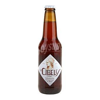 Cibeles Cerveza castaña 33 cl