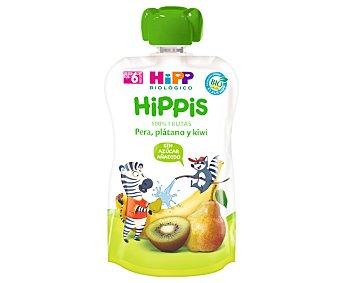 HiPP Biológico Bolsita de fruta (pera, plátano y kiwi) a partir de 6 meses hippis 100 g
