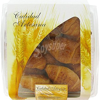 HIPERCOR mini croissant producción propia bandeja 252 g 12 unidades