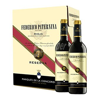 Federico Paternina Estuche de vino D.O. Rioja tinto reserva pack 6x75 cl