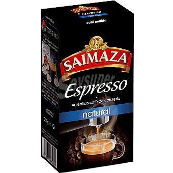 SAIMAZA Espresso Café Molido Natural Paquete 250 g