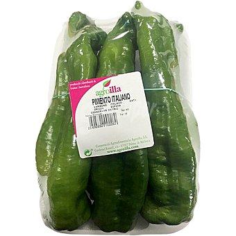 Agroilla Pimiento verde de Mallorca peso aproximado Bandeja 600 g