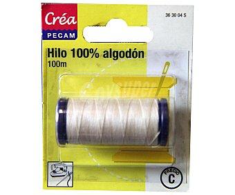 STYLE Hilo de algodón color crudo, 100 metros 1 Unidad