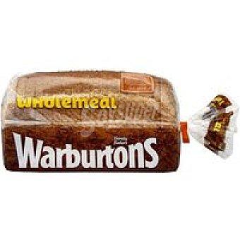 WARBURTONS Pan de molde integral Paquete 800 g