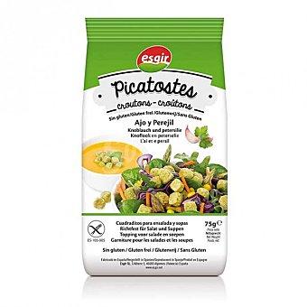 Esgir Picatostes con ajo y perejil sin gluten envase 75 g