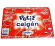 Petit suisse de fresa 4 x 60 g Celgán