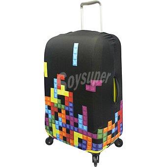 ORALLI Funda para maleta mediana tetris