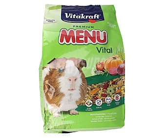 Vitakraft Alimento para cobayas menú vital Bolsa 3 kg