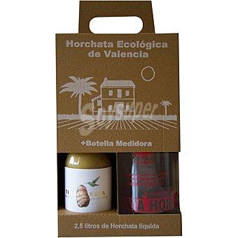 Terra i Xufa Horchata de chufa concentrada biológica con azúcar de caña Estuche botella 500 ml botella 500 ml