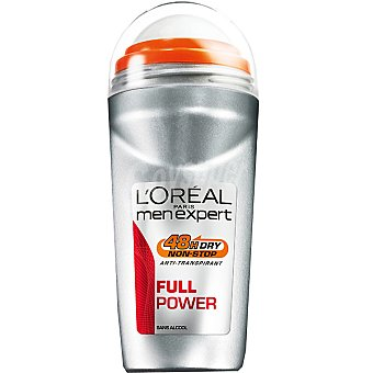 Men Expert L'Oréal Paris Desodorante roll-on Full Power anti-transpirante Envase 50 ml