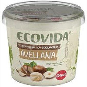Ecovida dhul Yogur ecológico de avellana Tarrina 250 g
