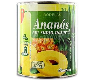 Auchan Piña en su jugo 490 gr