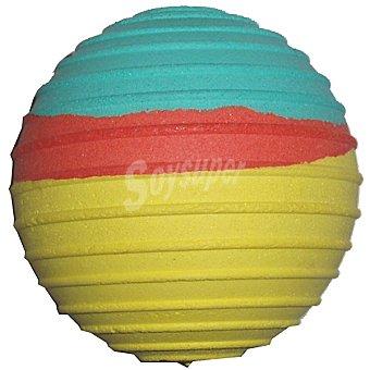 BALL SPORT Pelota para perro con círculos colores surtidos diámetro 65 mm 1 unidad