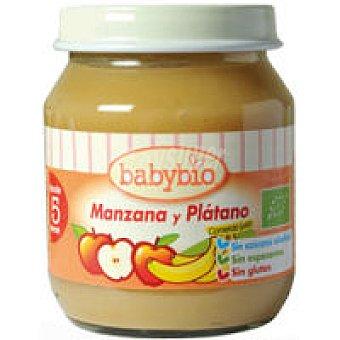 BABYBIO Potito de manzana-platano 260 g
