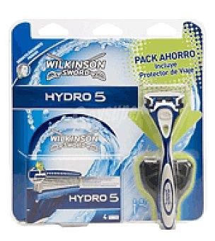 Wilkinson Pack Hydro 5 (gel + cuchilla + recargable ) 1 ud
