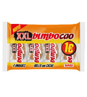 Bimbo Bollo con cacao Bimbocao 4 ud
