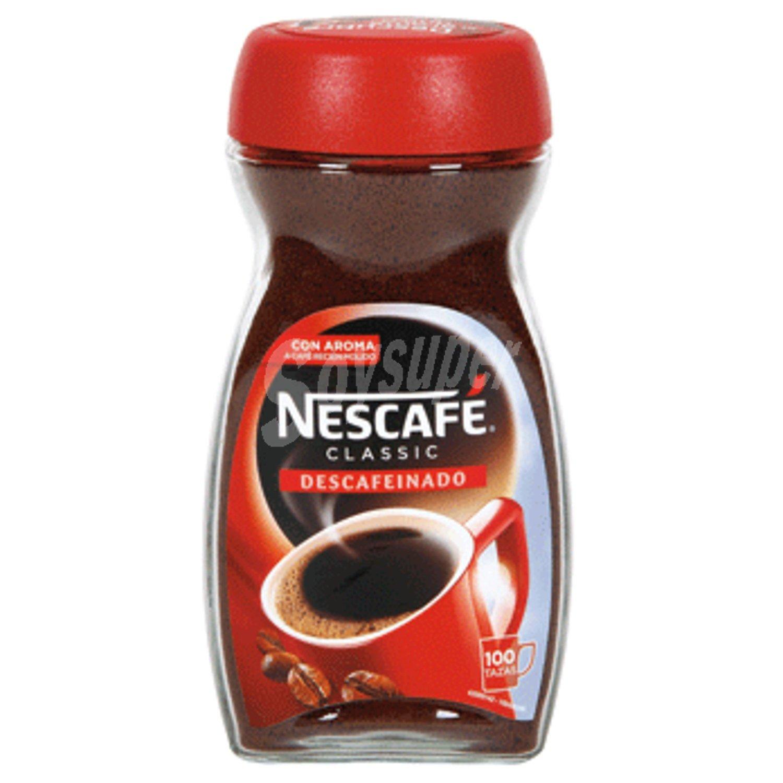 Nescafé Nescafé Classic Café Soluble Descafeinado 200 g ...