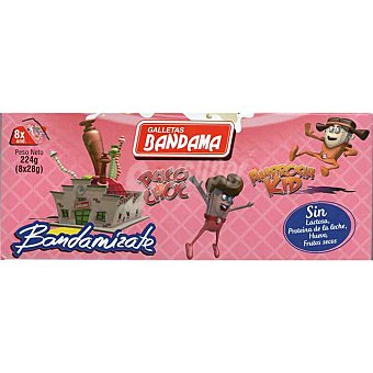 Bandama Galletas de barquillo Caja 224 g