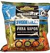 Verdura vapor microondas 3 vegetales (brócoli, coliflor, zanahoria) Bolsa 300 g Verdifresh