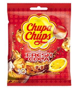 Chupa Chups Chupa chups cola bolsa 10 uds 120 g