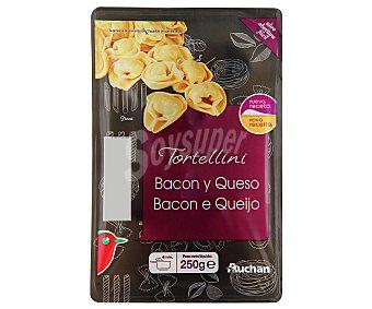 Auchan Tortellinis rellenos de bacon y queso 250 g