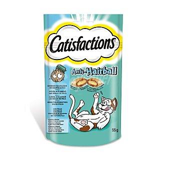 CATISFACTIONS Snack bolas de pelo Bolsa de 60 g