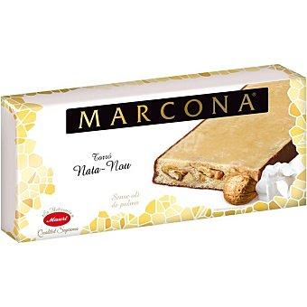Marcona Turrón de nata con nueces Sin Gluten Calidad Suprema Tableta 250 g