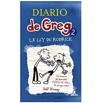 Molino Diario de Greg 2: La ley de Rodrick (jeff Kinney) +9 años 1 Unidad