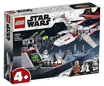 LEGO Star Wars Asalto a la Trinchera del Caza Estelar ala-x para construir con 132 piezas, Star Wars 75235 lego
