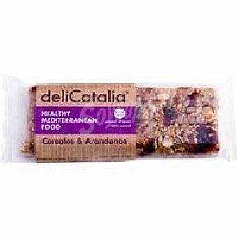 Delicatalia Barrita ecológica de cereales-arándanos 50 g
