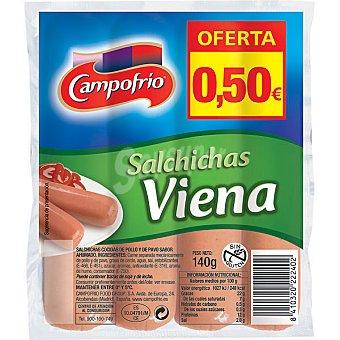 Campofrío salchichas Viena bolsa 140 g