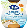 Tarrito cazuelita de merluza a la marinera Cocina Mediterránea pack 2x200 g Hero Baby