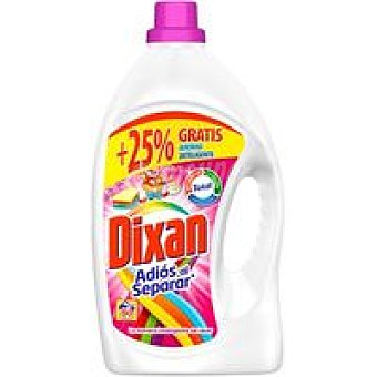 Dixan Detergente gel adios al separar Garrafa 40 dosis