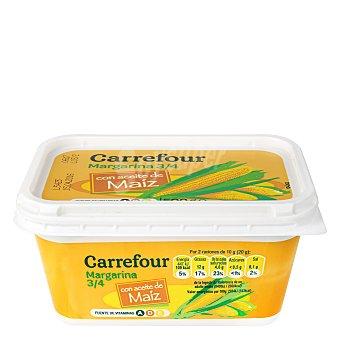Carrefour Margarina de maíz 3/4 500 g