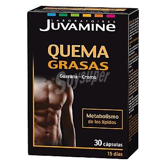 Juvamine Quema grasas guaraná-cromo Caja 30 cápsulas