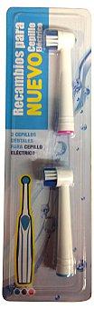 SP BERNER Cepillo dental eléctrico recambio  Paquete de 2 uds